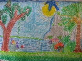 A beautiful garden by Tom