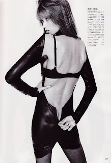 Abbey Lee Kershaw by Terry Richardson for Vogue Nippon