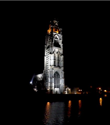 Boston stump by night