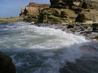 Sea at North Landings, Flamborough, Yorkshire