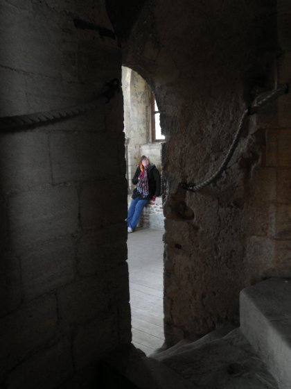 a room in the tower, Castle Rising