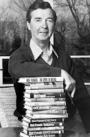 1976 photo of Dick Francis from Chris Capstick-Rex Features via The Guardian