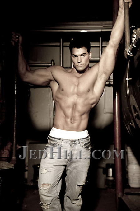 MaleFitnessModels.NET — JED SELECTED AS FIRST MODEL TO BE FEATURED ...