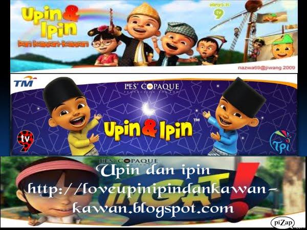 Love Upin&Ipin dan Kawan-Kawan