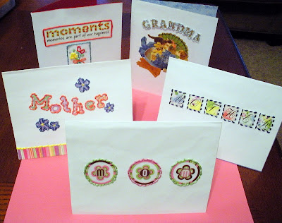 easy mothers day cards to make. These embroidered cards were