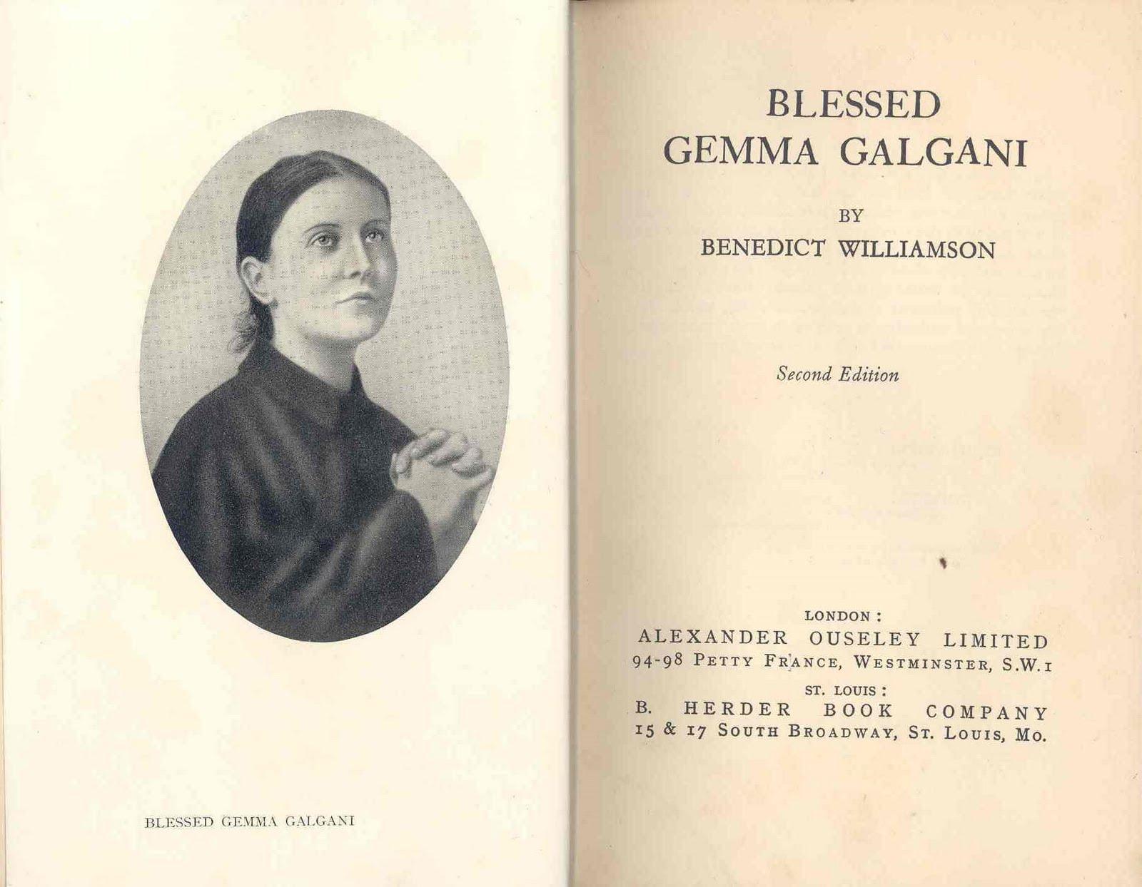 St Gemma Galgani: Miracles of Saint Gemma Galgani