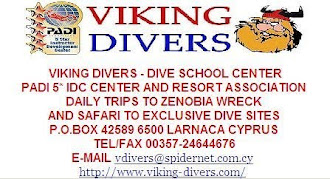 צלילה בקפריסין עם VIKING DIVERS