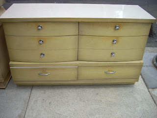 uhuru furniture collectibles 1950s limed oak 5 pc