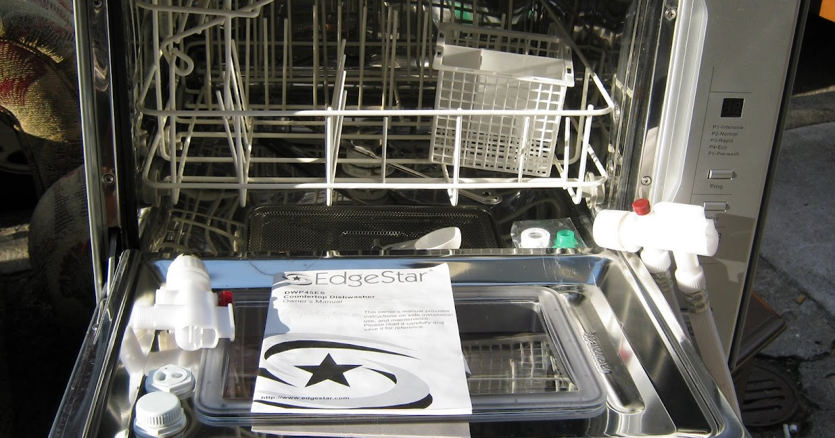Countertop Dishwasher For Sale South Africa : Uhuru Furniture & Collectibles: Edgester Countertop Dishwasher -SOLD
