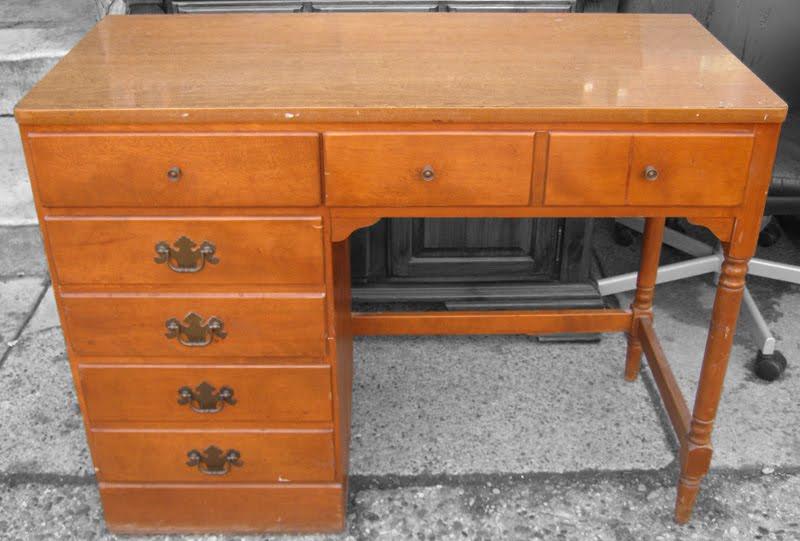 Ethan Allen Maple Desk SOLD