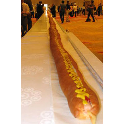 world's longest hot dog picture 2010, world's longest hot dog picture, world's longest hot dog image, world's longest hot dog photo, world's longest hot dog video