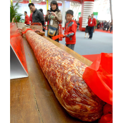 world's largest salami picture, world's largest salami photo, world's largest salami video, world's largest salami images.