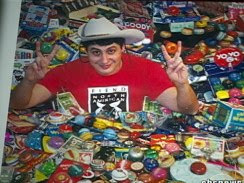 World's Biggest Yo-Yo Collector picture, World's Biggest Yo-Yo Collector photo, World's Biggest Yo-Yo Collector image, Dr. John Meisenheimer picture, Dr. John Meisenheimer photo, Dr. John Meisenheimer image