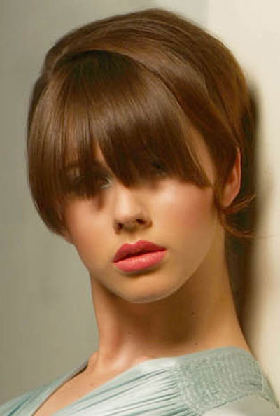 Latest Short Bangs Hairstyles for Women