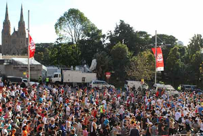 world's largest road race photo, most colourful place in Sydney Australia, world's most spectacular running events photo