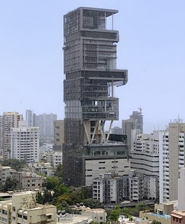 World's Most Expensive House photo, Antilla House picture, Antilla home image, Mukesh Ambani Antilla House photo, World Costliest house 2011, Most Expensive House in the world, Antilla House in Mumbai India, Mukesh Ambani Antilla House address, fourth richest man in the world