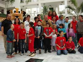 Equipo de Almeria campeón de Andalucia 2009 hasta sub 12
