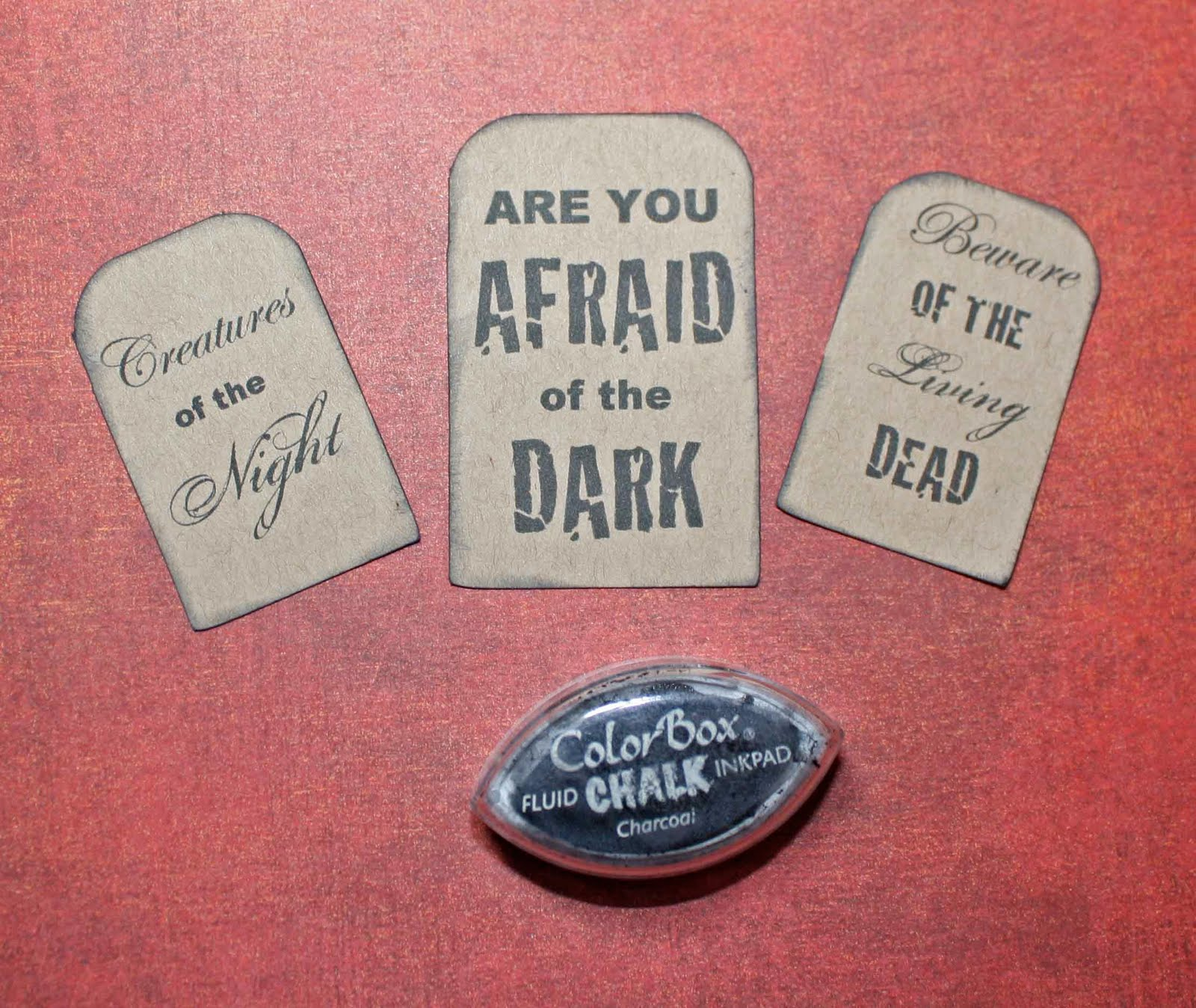 Scary Tombstone Sayings http://ideasforscrapbookers.blogspot.com/2010/10/making-of-tombstone.html