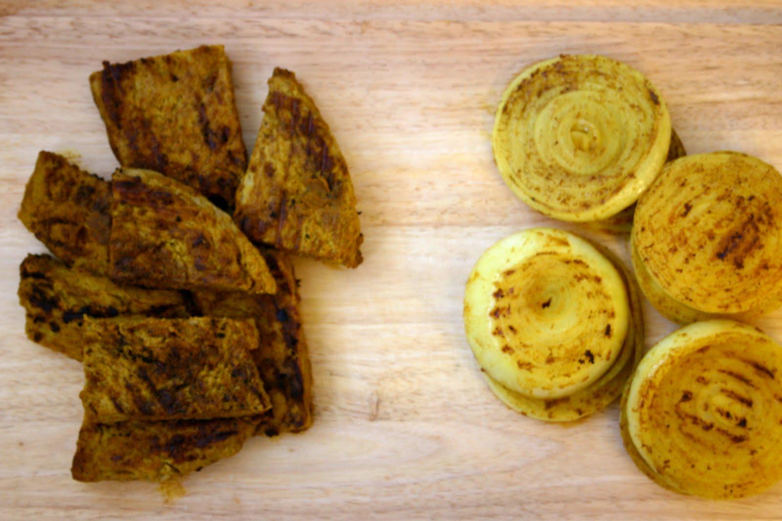 ... Chipotle Tomato Relish and Roasted Garlic, Sage and Artichoke Tahini