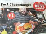 Corner Bistro's Cheeseburger Gets      Best in New York