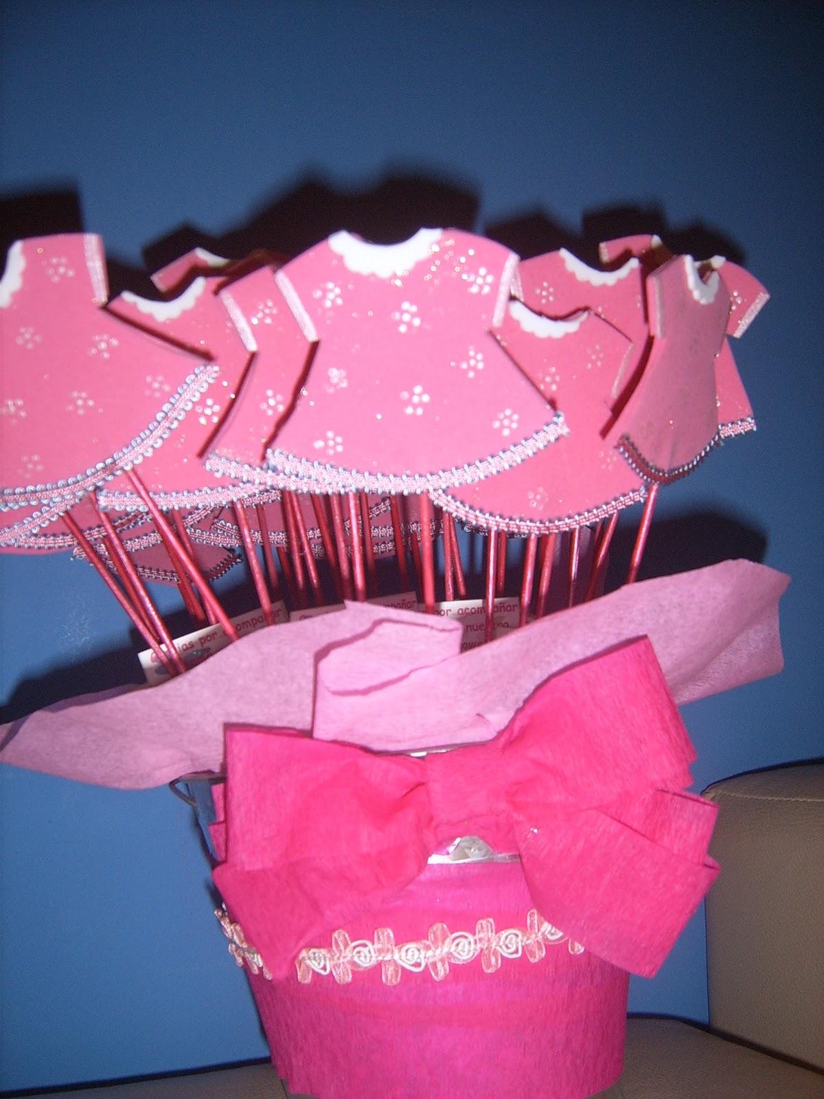 Recuerdos o souvenirs para Baby Shower niña - PASO A PASO | EL ...