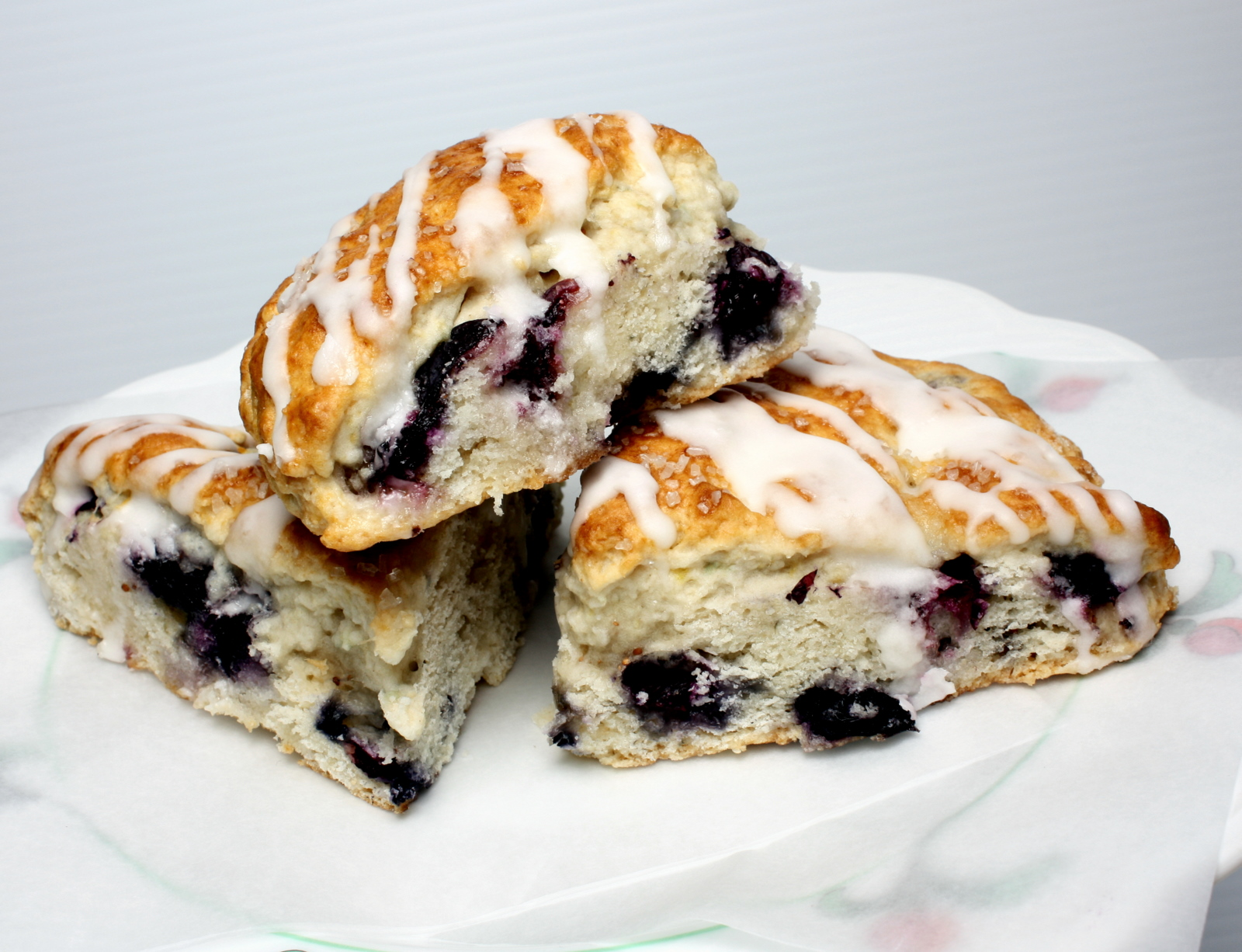 Lemon Blueberry Scones | Wives with Knives