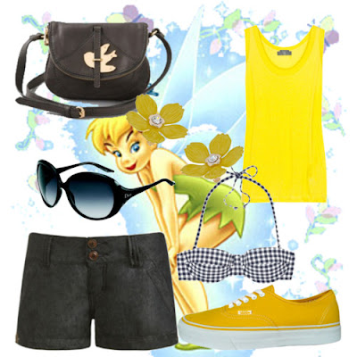 What Mimi Writes Polyvore Disneyland outfit and Aveeno contest D