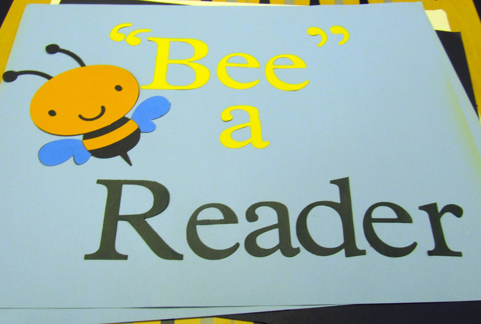 Bee A Reader Poster So Tomorrow