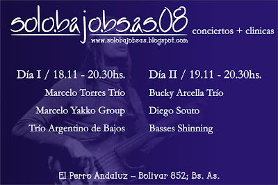 Festival para Bajistas Buenos Aires 2008