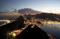 Rio at night...what a sight!