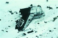tail section of Erebus crash, 1979