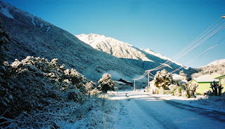 Otira in snow