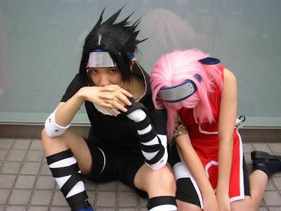 Сасукэ и Сакура
