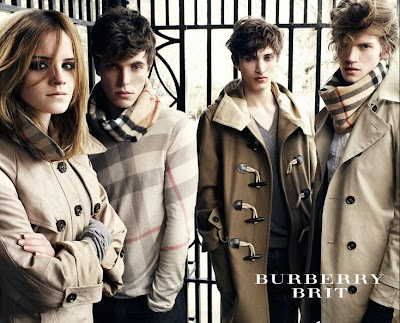 Emma Watson for Burberry Ad Campaign, 2009
