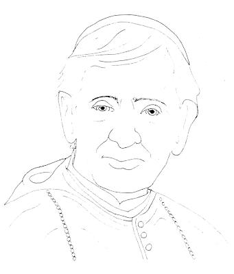 Saint John Neumann Coloring Page Coloring Pages