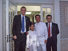 I think I'm getting taller! Jazmin's Baptism..