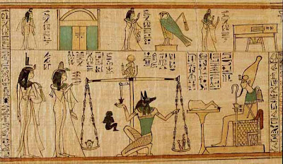 Anubis weighing the evidence
