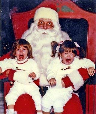 Bad feng shui Santa