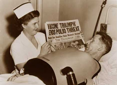 Polio vaccine headline