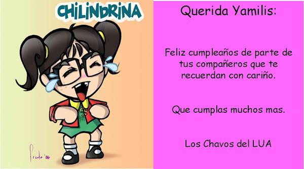 Cumpleaños Yamilis