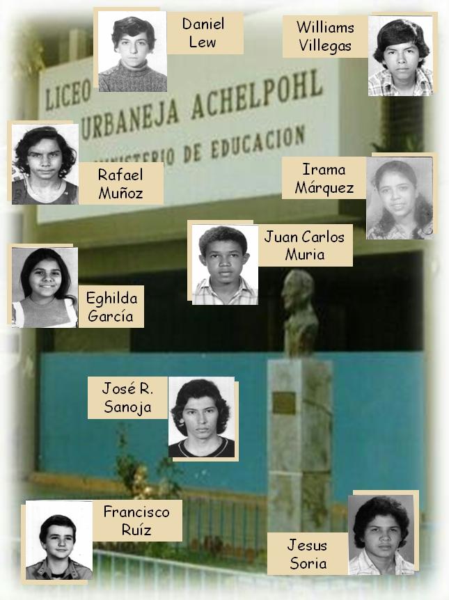 FOTOS LUA 1978. Grupo VI