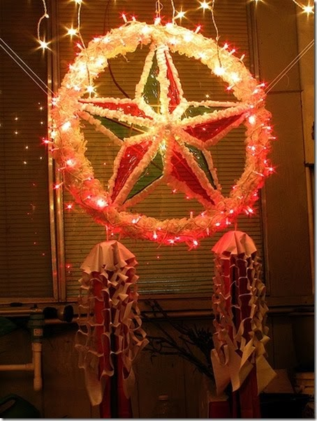 Our culture parol chistmas lanterns for B q christmas decorations