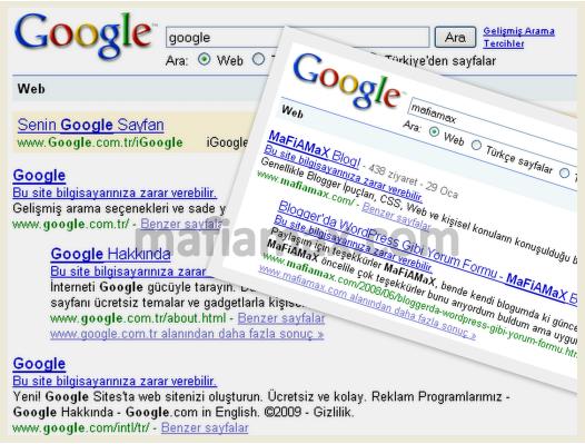 Google'da O an