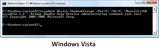 Windows Vista disk kapasitesini belirleme