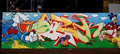 OMSK's Graffiti
