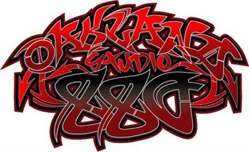 Wild Red Graffiti Style