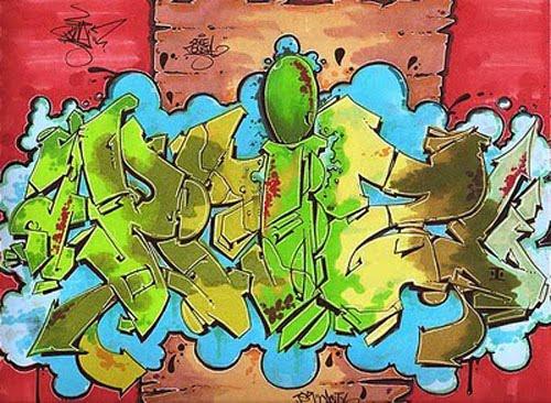 Graffiti Black Book Style
