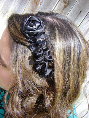 Something pretty express headband revisited for Black headbands dollar tree