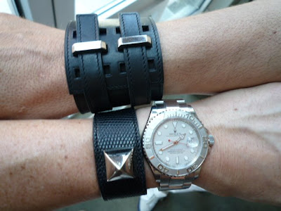 We wore these two Hermès bracelets on Gay Pride here in NYC.