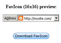 Blogger Trick: How to Create Favicon
